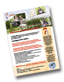 Flyer voor forelvissers/forelvisbuddies in PDF-formaat:
